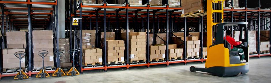 Gestione del magazzino e assistenza alla produzione